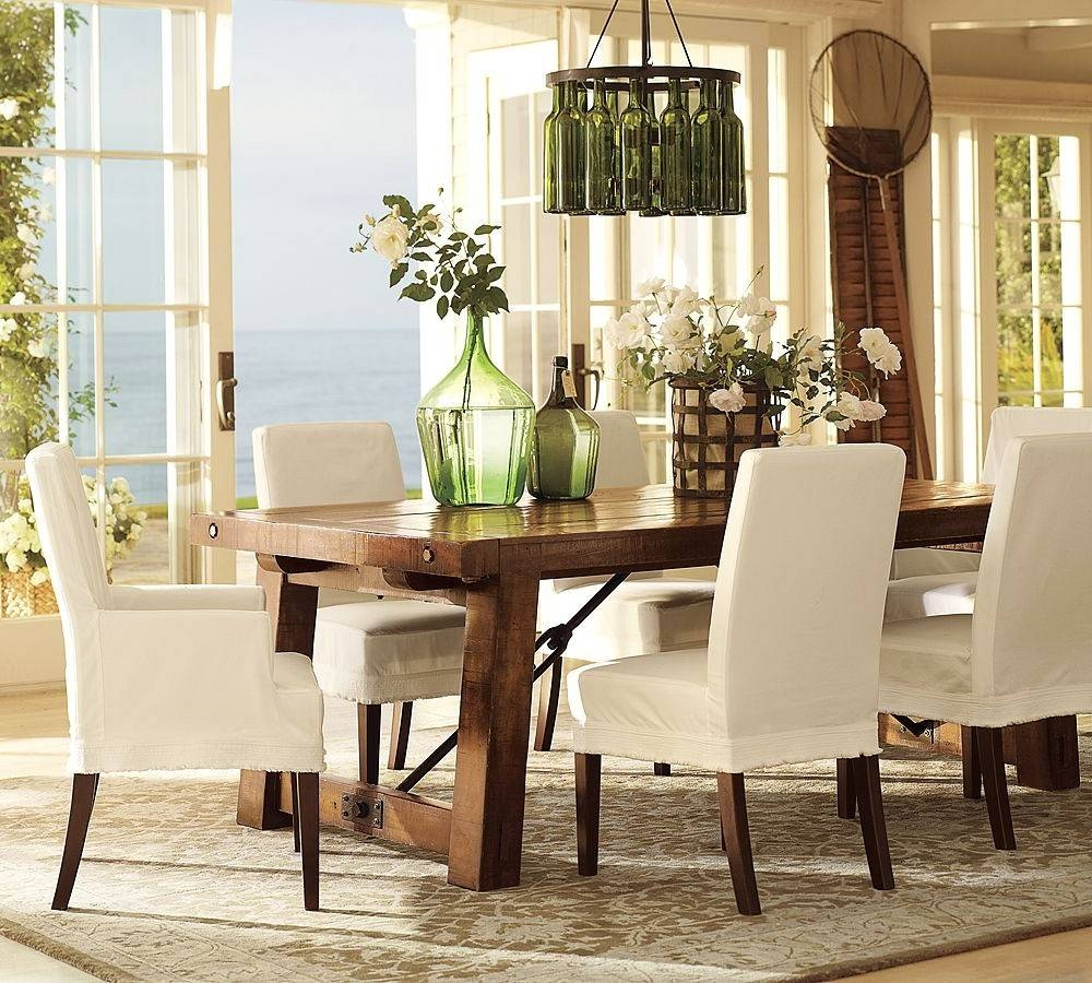 Stylish Design Pottery Barn Dining Room Chairs | All Dining Room with Pottery Barn Chair Slipcovers (Image 15 of 15)