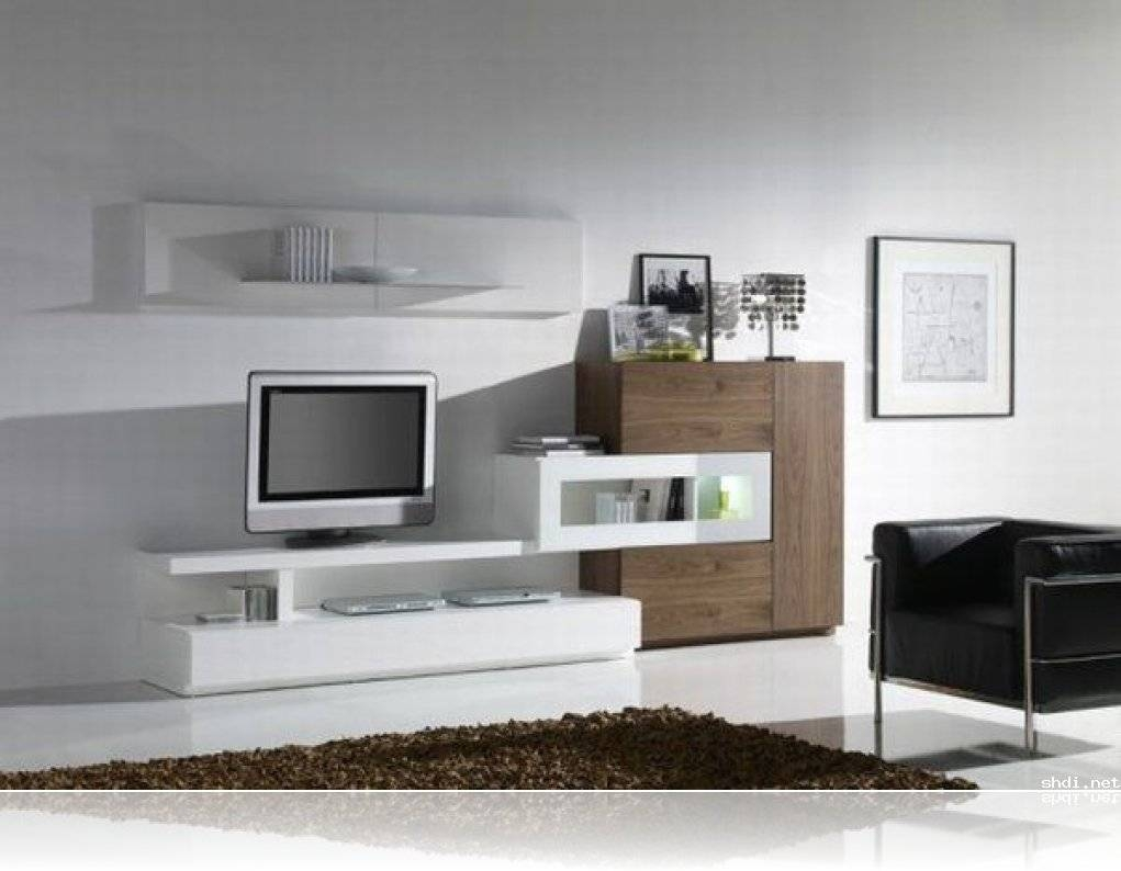 Stylish Tv Wall Units For Living Room In Modern Style Houseti Intended For Stylish Tv Cabinets (View 8 of 15)