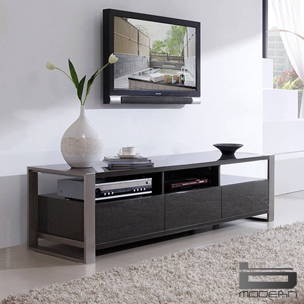 Stylist Tv Standb-Modern - Interiordesignerdecor with regard to Grey Tv Stands (Image 13 of 15)