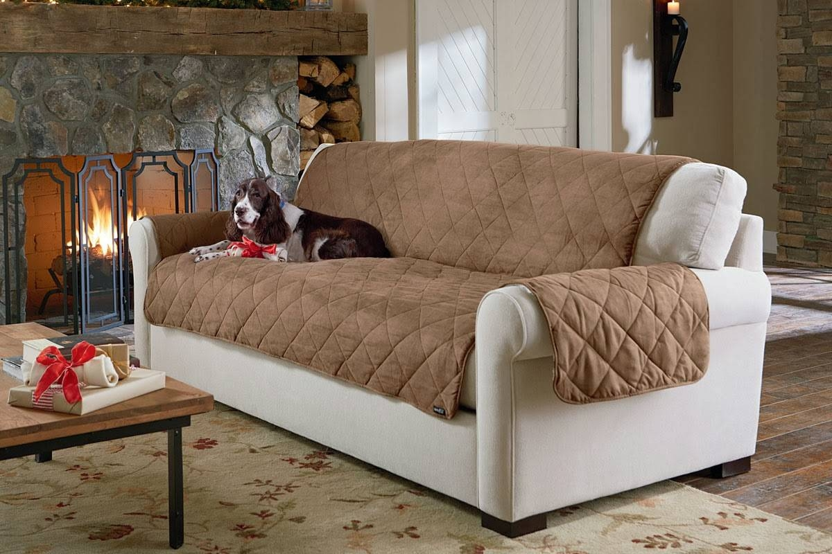 Sure Fit Slipcovers: Life Is Ruff, Pet Proof Your Decor! With Regard To Cat Proof Sofas (View 12 of 15)
