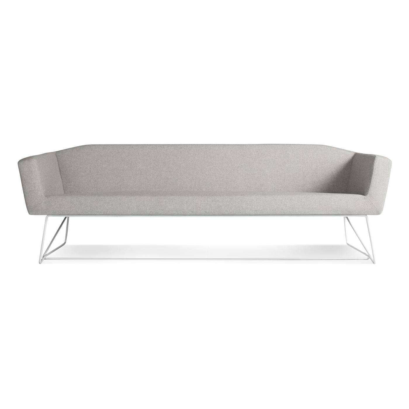 Swept Minimalist Sofa - Simple Modern Sofa | Blu Dot pertaining to Simple Sofas (Image 13 of 15)