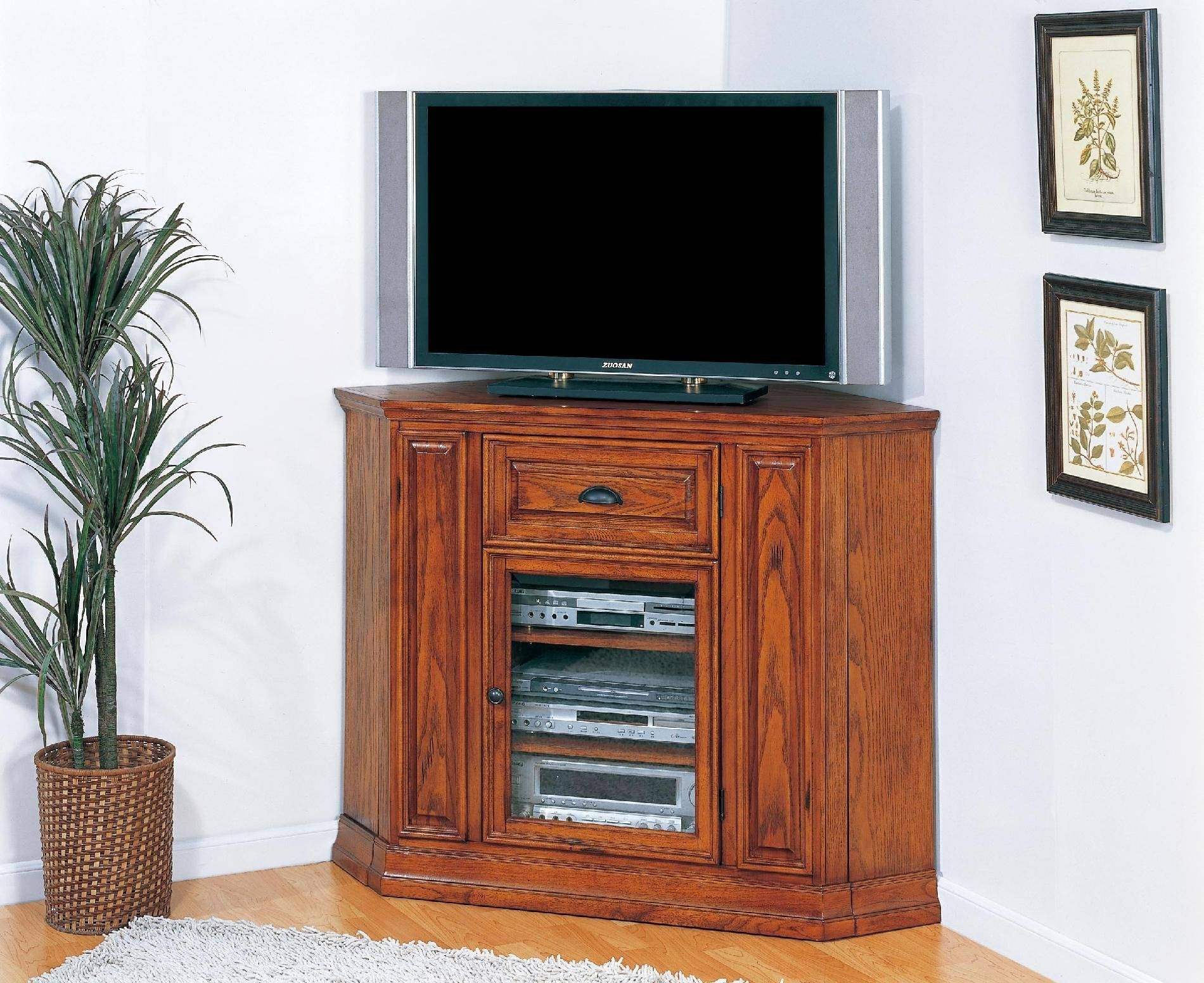 Tall Tv Corner Unit For Bedroom Colletion - Properwinston regarding Tall Tv Cabinets Corner Unit (Image 8 of 15)