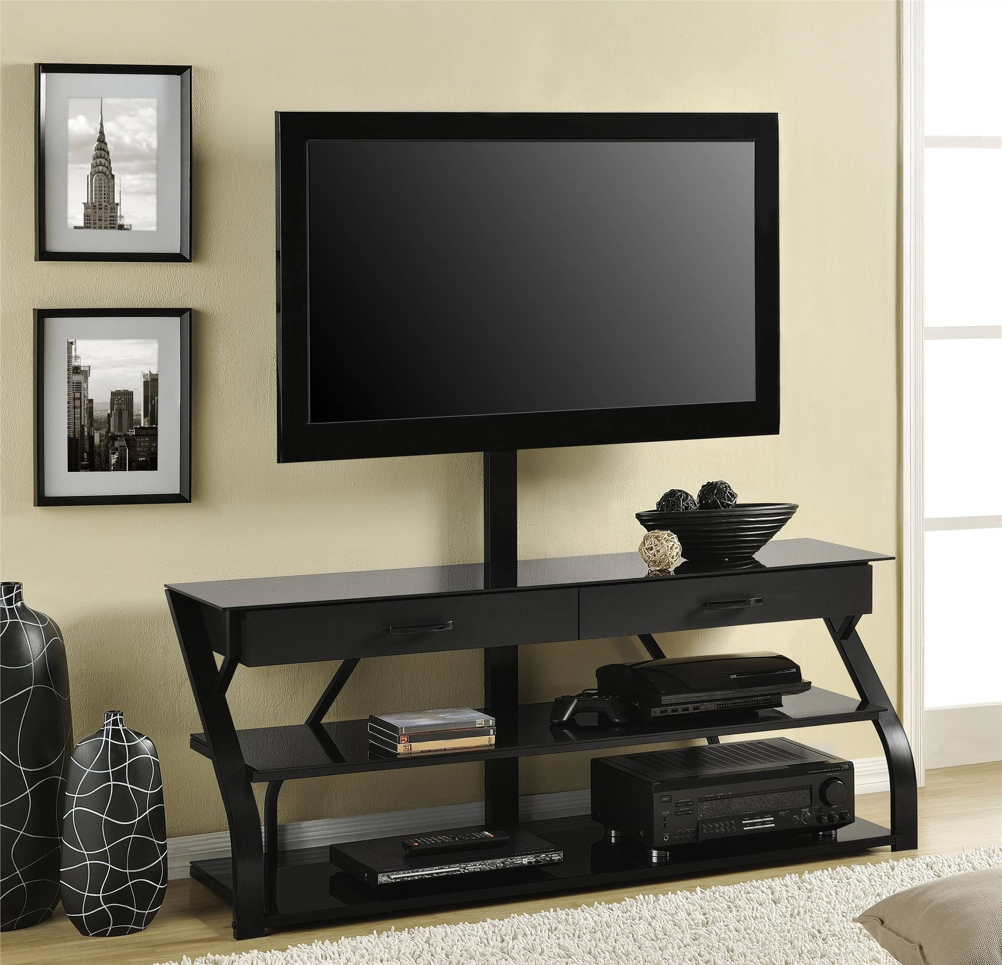 Tall Tv Stand For Bedroom Altra Furniture File Cabinet Also Regarding Stylish Tv Stands (View 10 of 15)