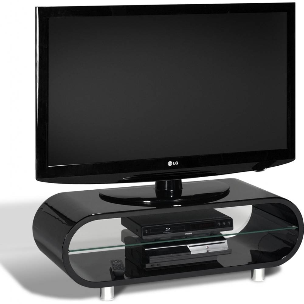 Techlink Lcd Led And Plasma Tv Stands pertaining to Ovid White Tv Stand (Image 3 of 15)