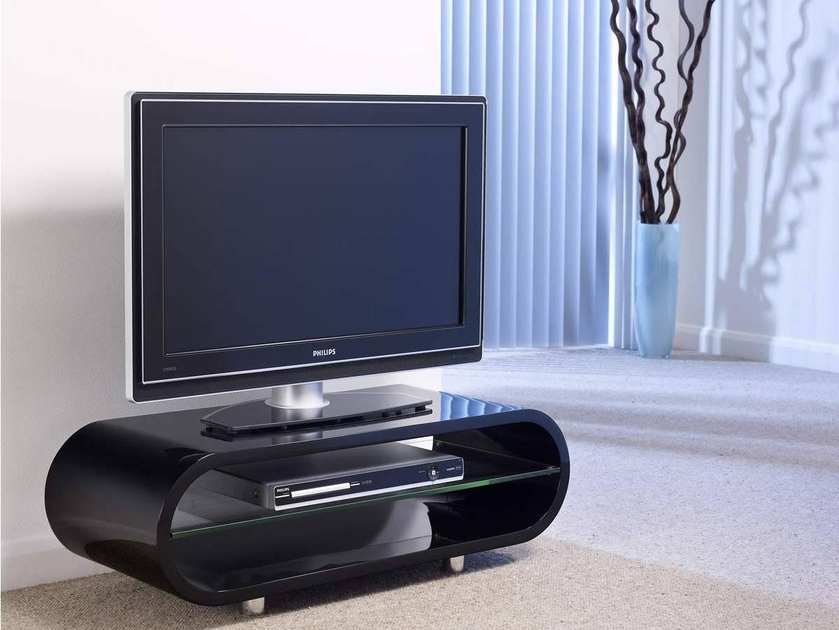 Techlink Ov95B Tv Stands inside Ovid White Tv Stand (Image 4 of 15)
