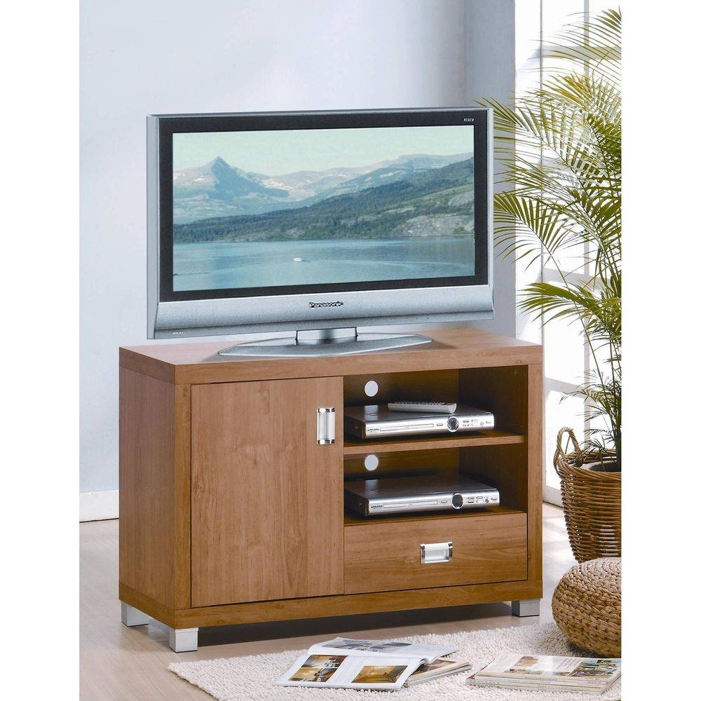 Techni Mobili Tv Cabinet, Maple | Ebay with Maple Tv Cabinets (Image 10 of 15)