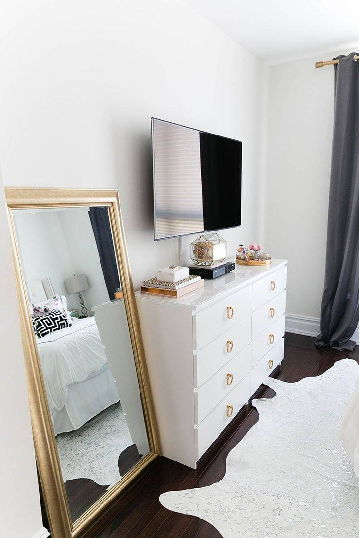 The 25+ Best Bedroom Tv Stand Ideas On Pinterest   Apartment Inside Gold Tv Cabinets (View 8 of 15)