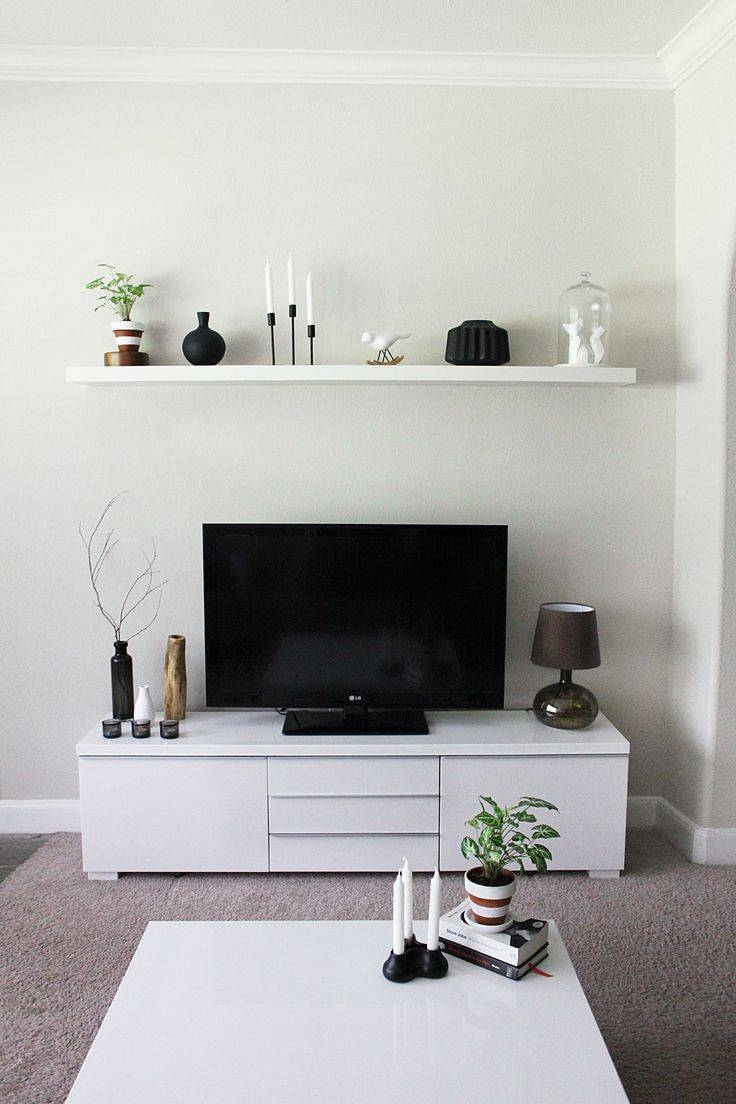The 25+ Best Ikea Tv Stand Ideas On Pinterest | Ikea Tv, Ikea Tv in Single Shelf Tv Stands (Image 11 of 15)