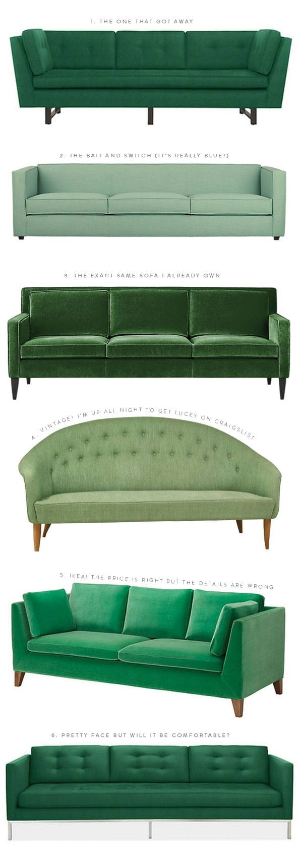 The Great Green Sofa Hunt Of 2014 pertaining to Mint Green Sofas (Image 14 of 15)