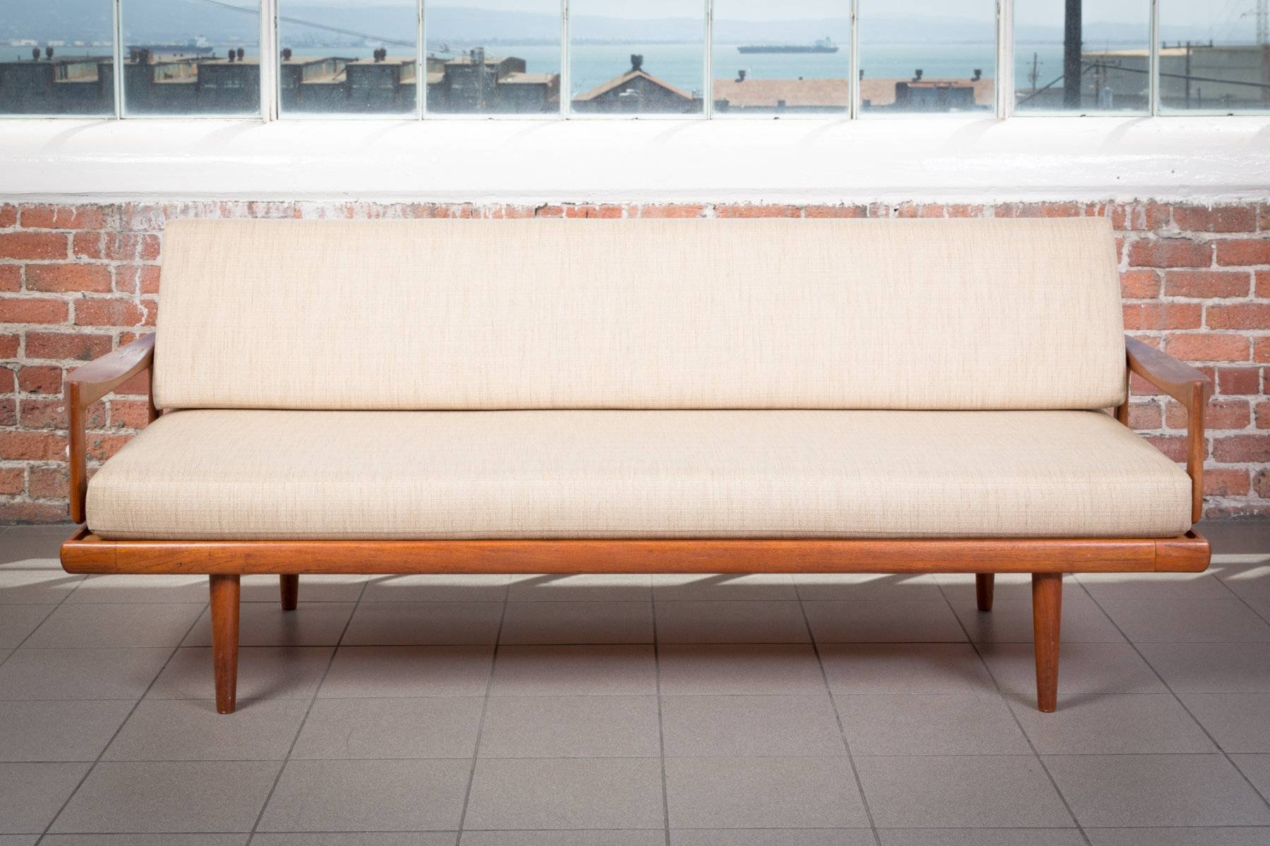 The Jacamar | Danish Modern Sofa | Piecesviolet - Vintage Rentals intended for Modern Danish Sofas (Image 15 of 15)