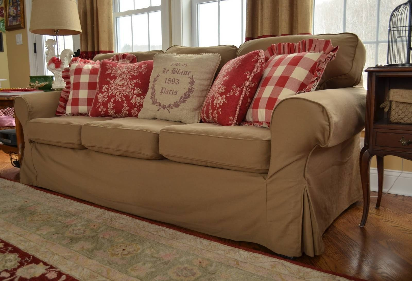 The Thrifty Gypsy: Slipcover Secret with Arhaus Slipcovers (Image 15 of 15)