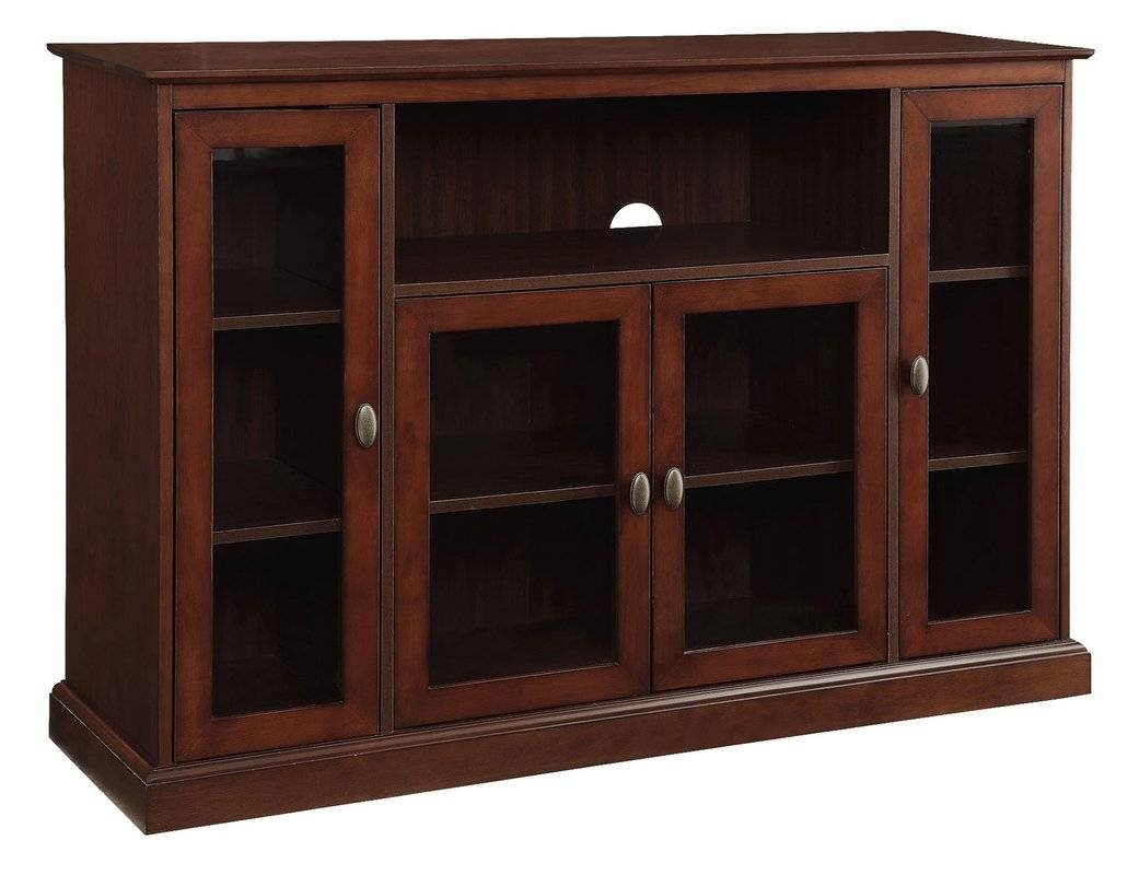 "Three Posts Farmersville 52"" Tv Stand & Reviews 