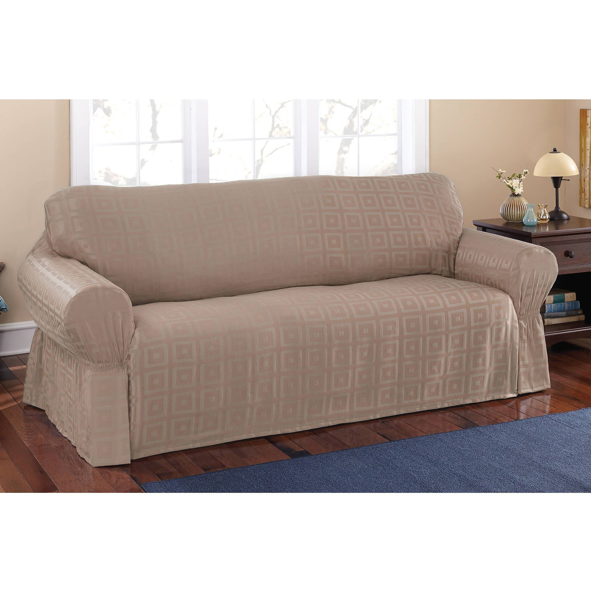 Tips: Cozy Sofa Slipcovers Cheap For Exciting Sofas Decorating within Slipcover For Reclining Sofas (Image 15 of 15)