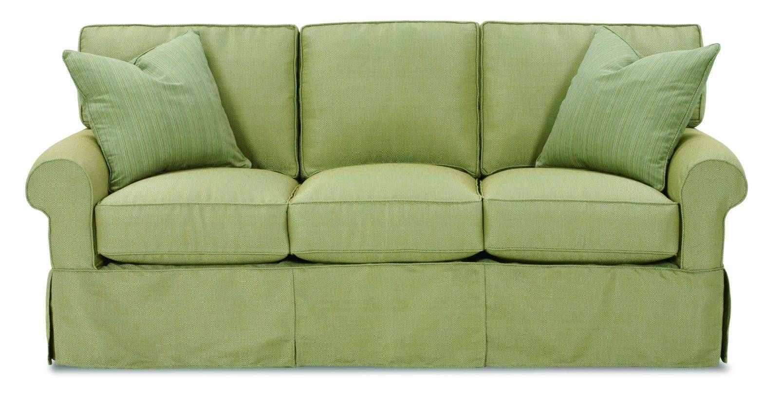 Tips: Smooth Slipcovers Sofa For Cozy Your Furniture Ideas With Regard To Sleeper Sofa Slipcovers (View 2 of 15)