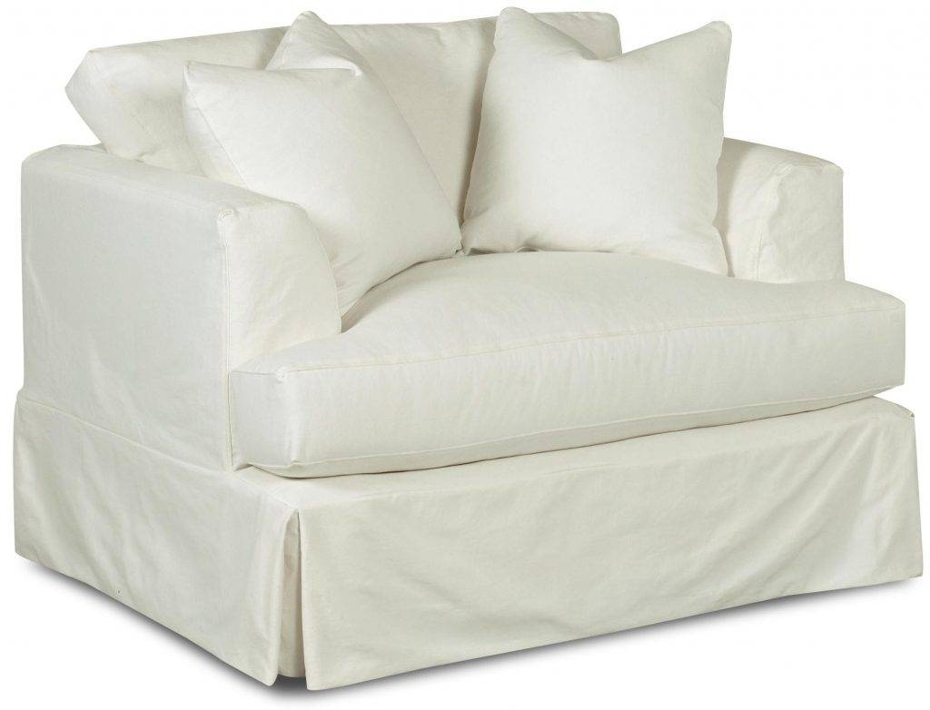 Tips: Soft T Cushion Chair Slipcovers For Elegant Interior In T Cushion Slipcovers For Large Sofas (Photo 7 of 15)
