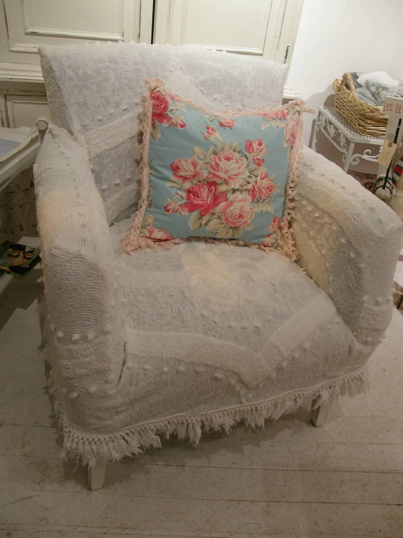 Tips: T Cushion Chair Slipcovers | Armchair Slipcover | Slip Regarding Shabby Chic Sofa Slipcovers (View 15 of 15)