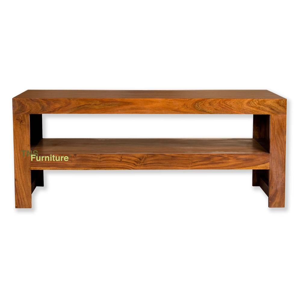 Tns Furniture | Mansa Sheesham Coffee Table / Tv Stand with regard to Sheesham Tv Stands (Image 14 of 15)