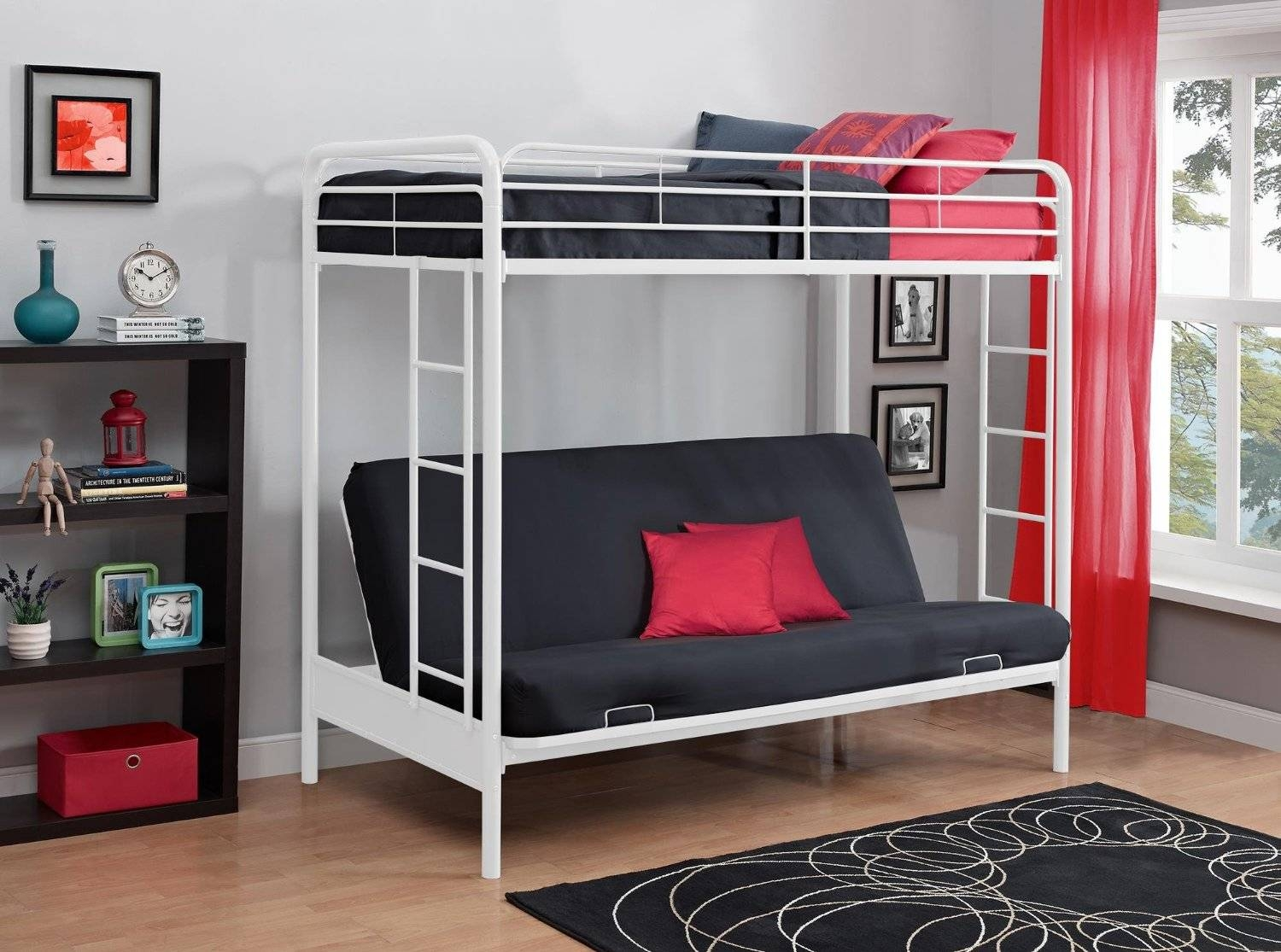 Total Fab: Metal & Wood Loft Beds With Sofa Underneath With Bunk Bed With Sofas Underneath (View 4 of 15)