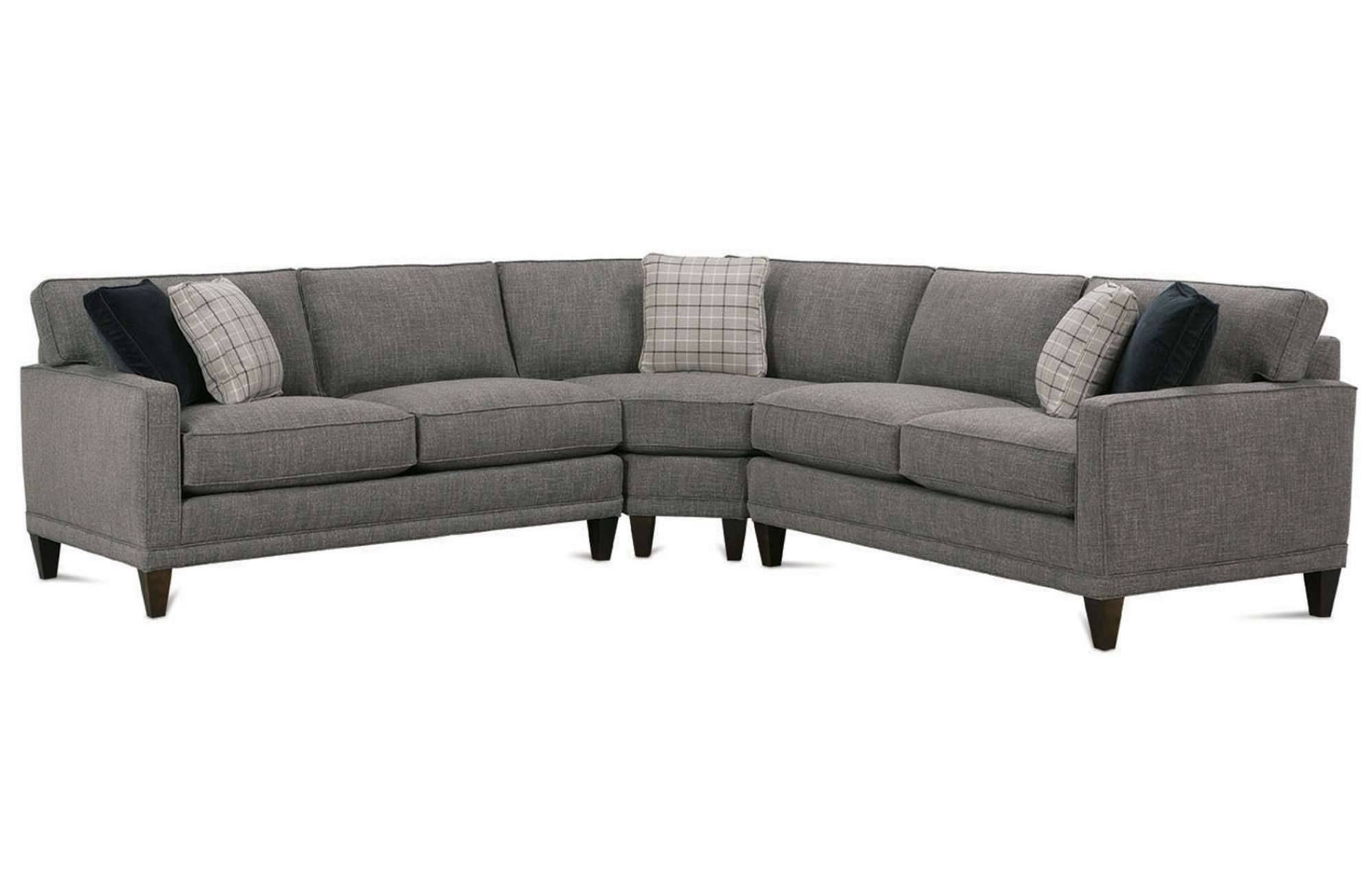 Townsend Sectionalrowe Furniture pertaining to Rowe Sectional Sofas (Image 15 of 15)