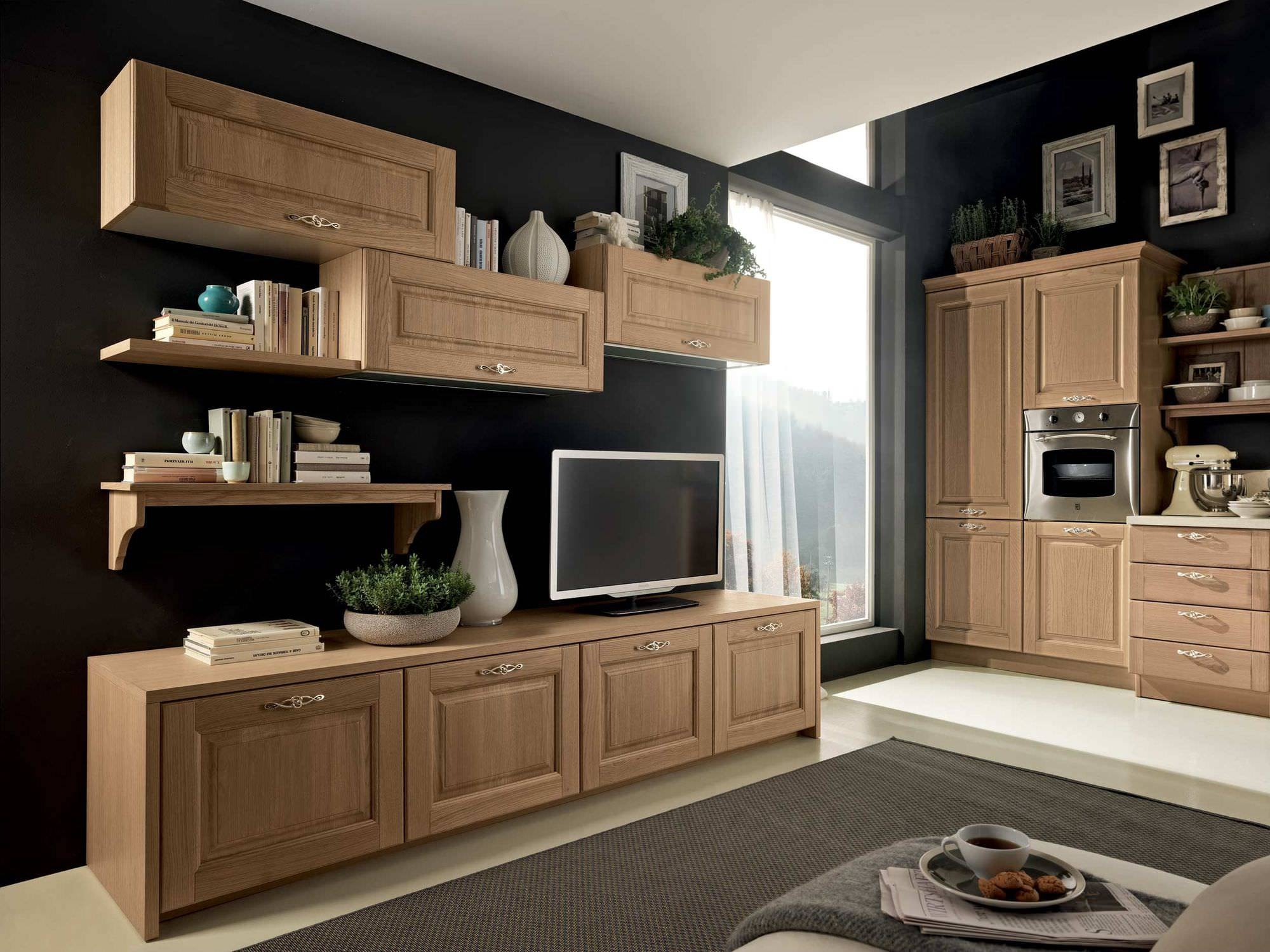 Traditional Tv Cabinet / Wooden – Bolgheri – Stosa Cucine Inside Traditional Tv Cabinets (View 3 of 15)