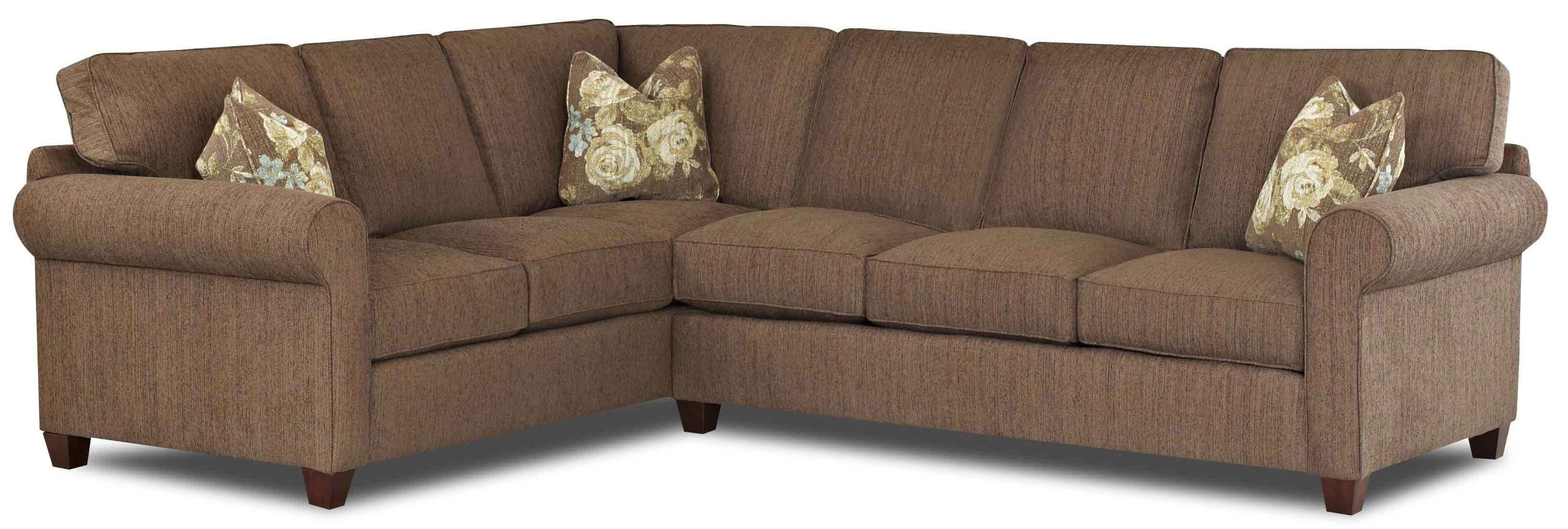 Transitional 2 Piece Sectional Sofa With Weltklaussner | Wolf with 2 Piece Sofas (Image 14 of 15)