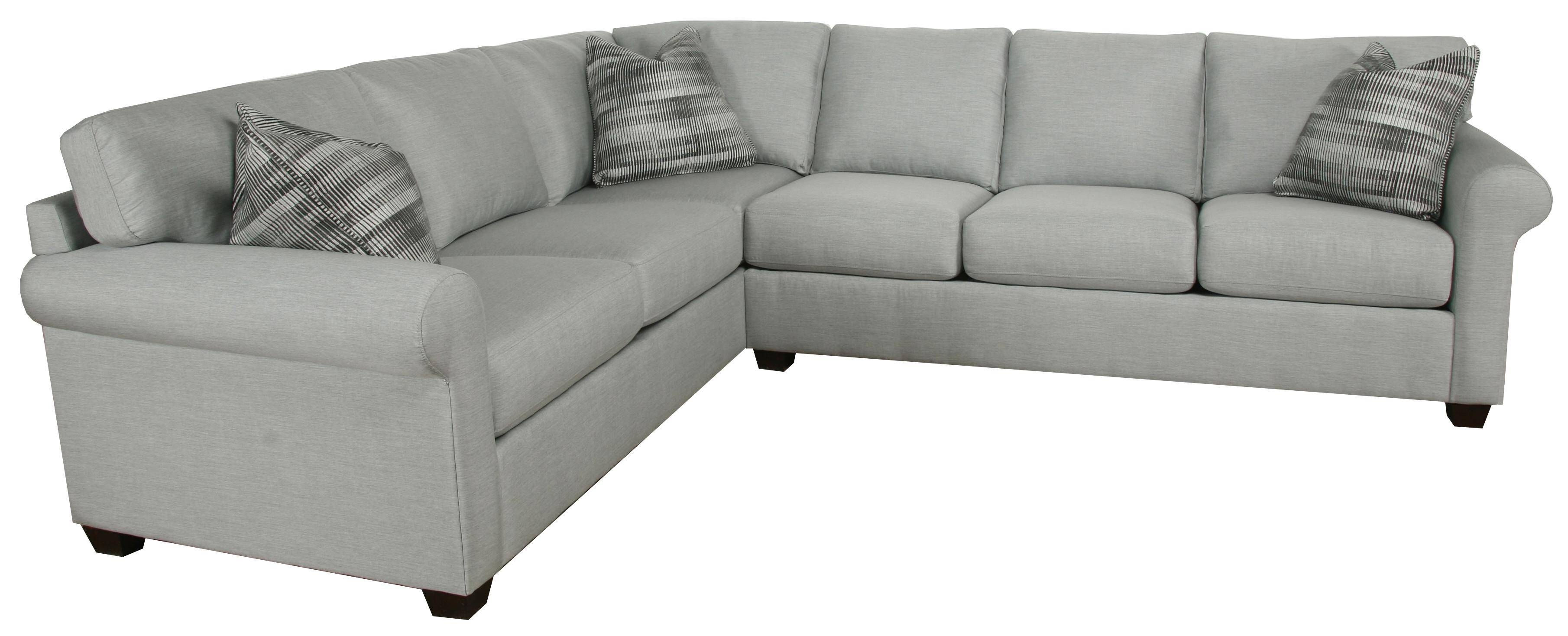 Transitional 2-Piece Sectionalbauhaus | Wolf And Gardiner Wolf with Bauhaus Furniture Sectional Sofas (Image 15 of 15)