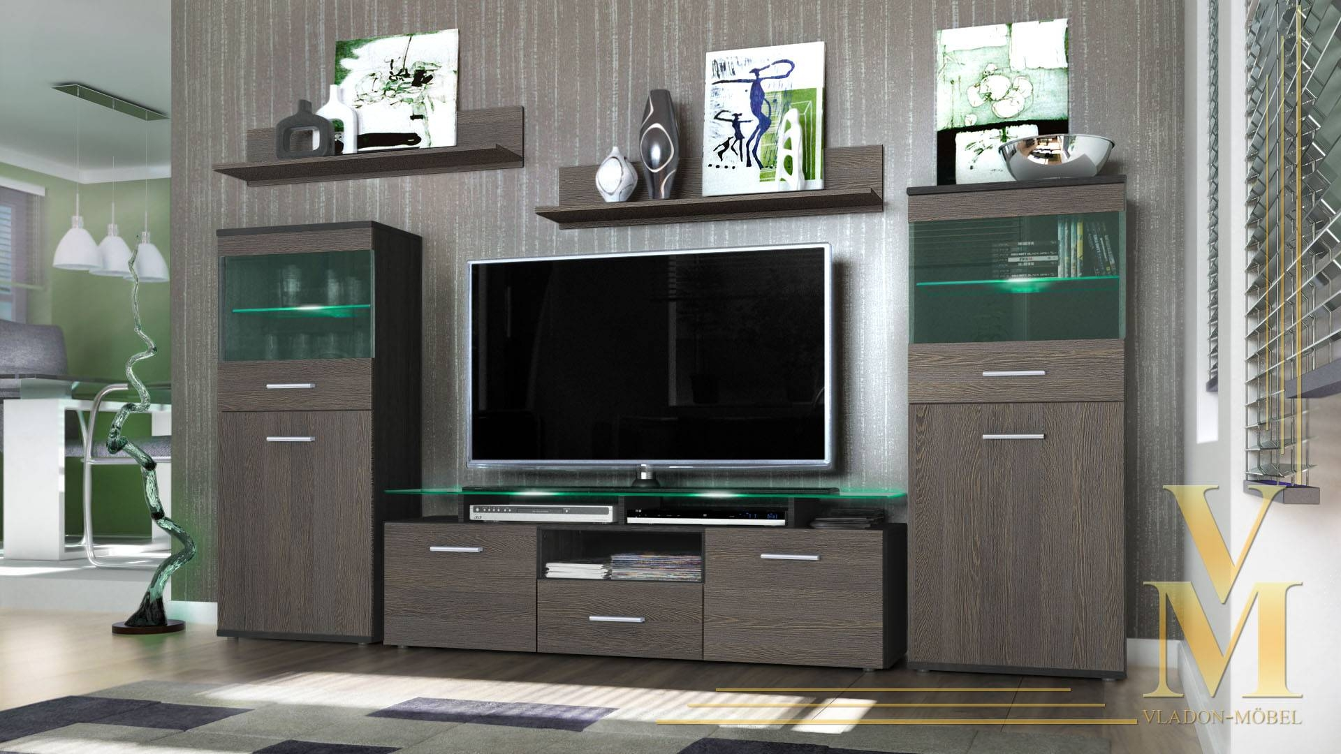 Trendy Tv Units For The Stylish Modern Home ~ Crowdbuild For (View 4 of 15)