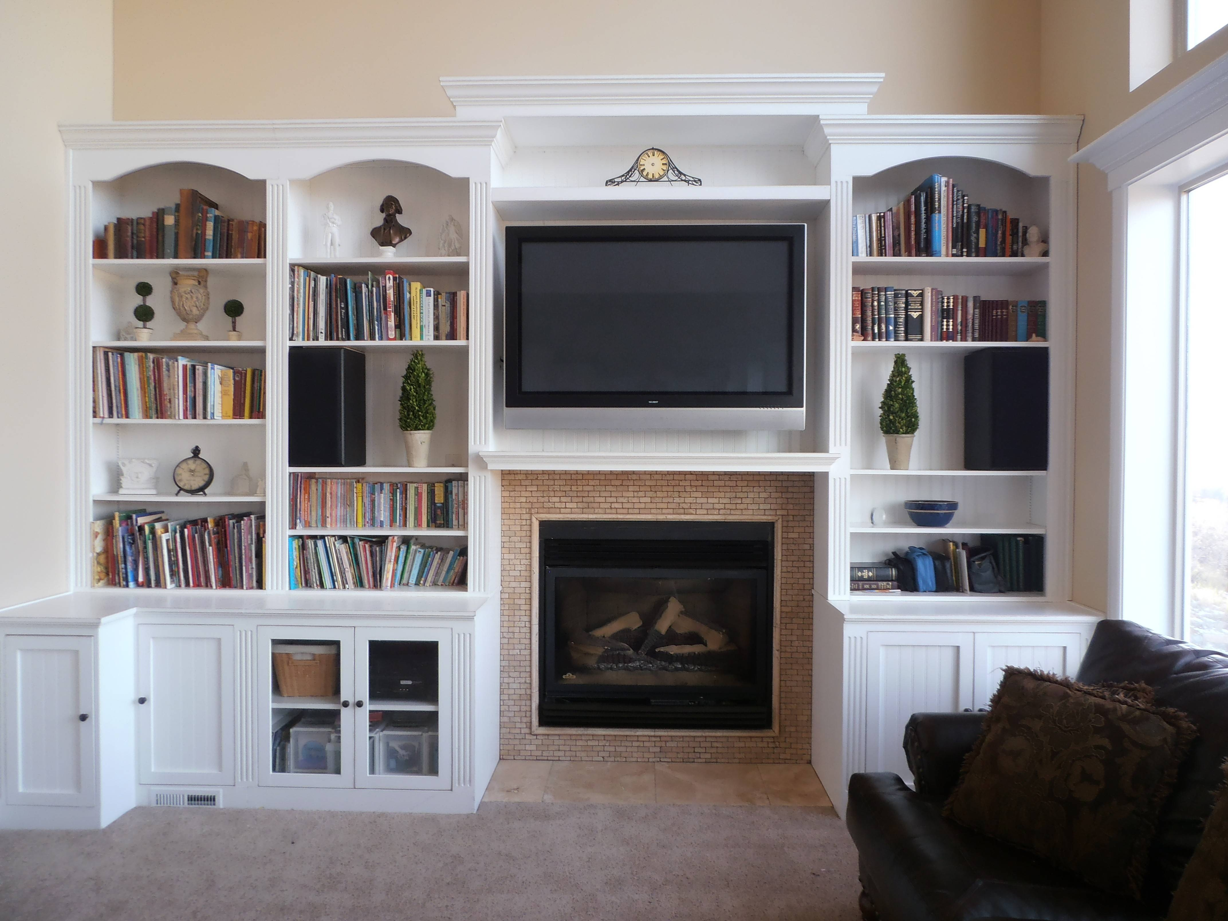 Tv Bookcase Uk – Thesecretconsul With Tv Stands With Bookcases (View 7 of 15)