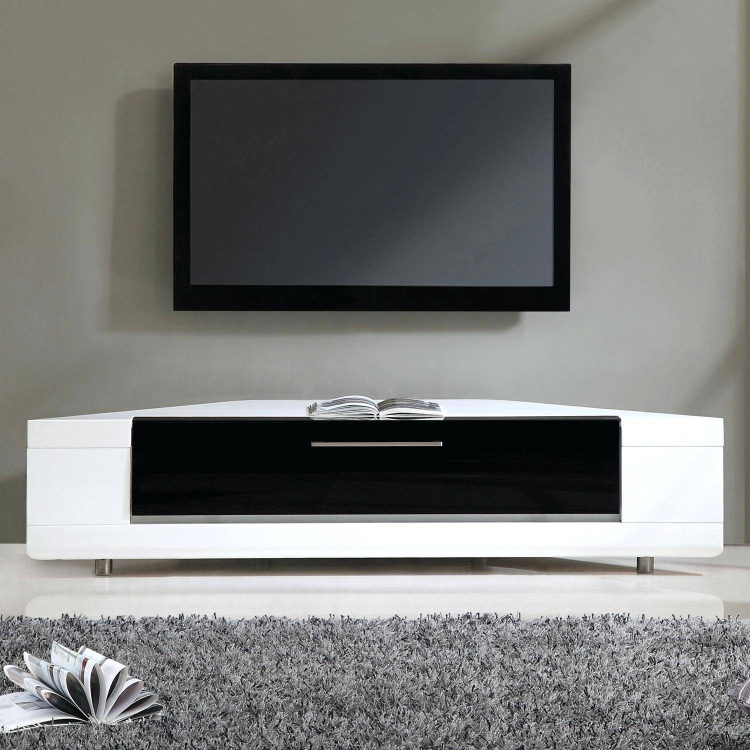 Tv Stand : 105 Full Size Of Furniturecorner Tv Stand The Range intended for White High Gloss Corner Tv Unit (Image 9 of 15)
