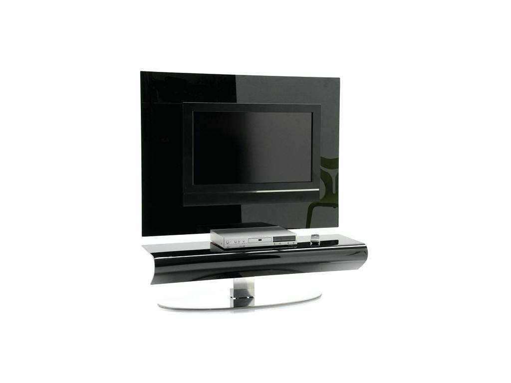 Tv Stand : 135 High Gloss Black Glass Swivel Tilt Tv Stand With within Modern Tv Stands For Flat Screens (Image 11 of 15)