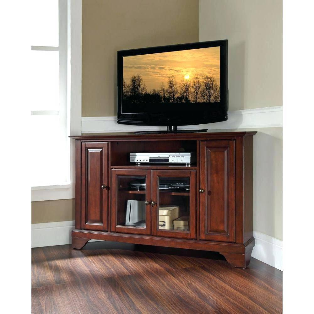 Tv Stand : 140 Crosley 60 Inch Tv Stand In Vintage Mahogany Full regarding 61 Inch Tv Stands (Image 3 of 15)