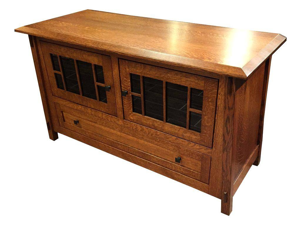 Tv Stand : 23 Fascinating Home Oak Tv Stands 41 To 49 Wide Tv Pertaining To Oak Tv Stands For Flat Screens (View 11 of 15)