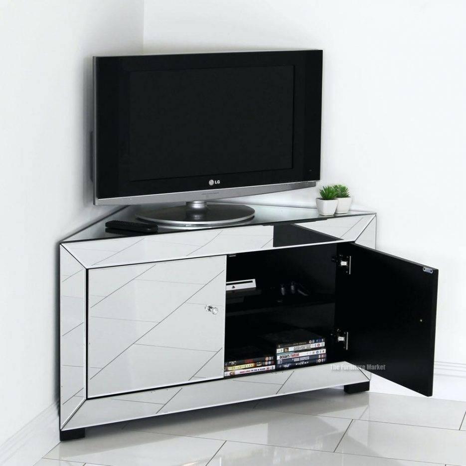 Popular Photo of Silver Corner Tv Stands