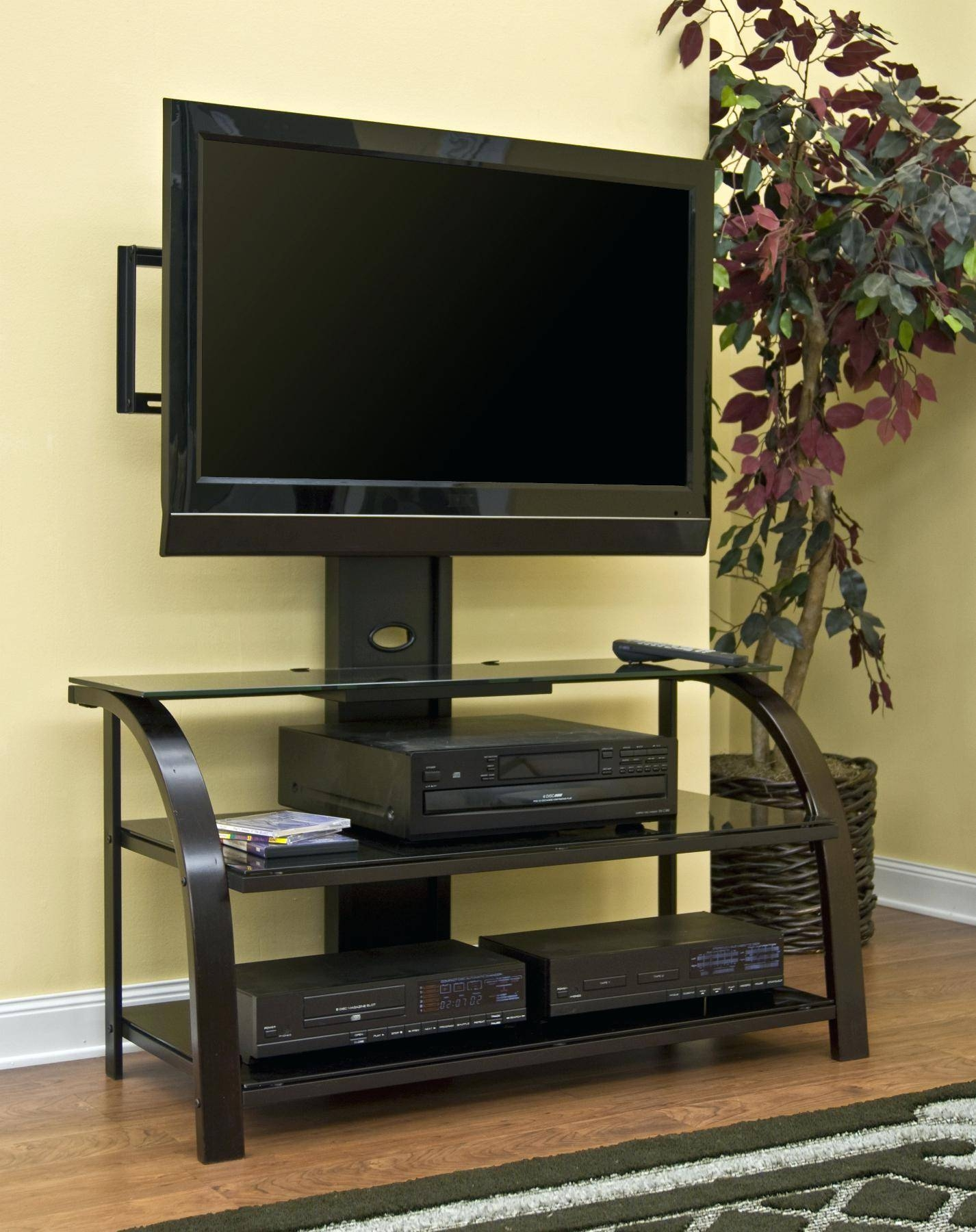 Tv Stand : 90 Country Wall Decor For Living Room White Gloss Wood In Tv Stands With Storage Baskets (View 11 of 15)
