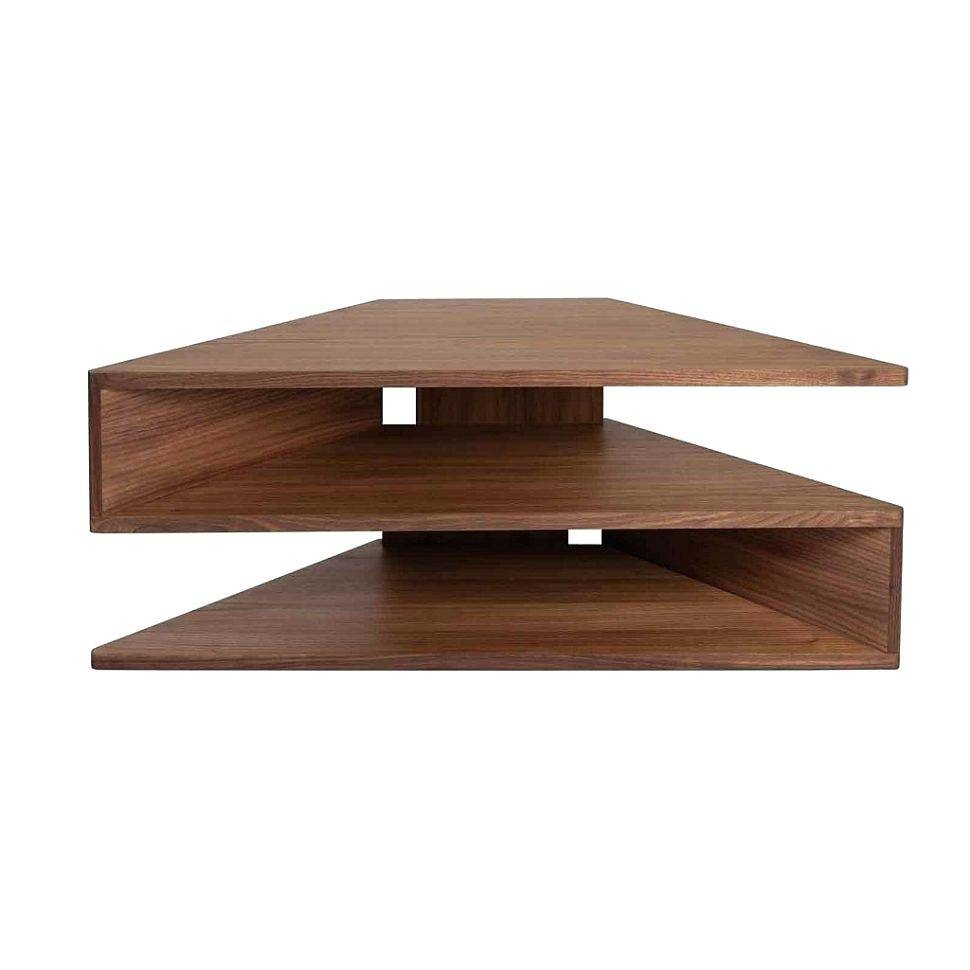 Tv Stand : 96 Cool Ola Curved Tv Standbdi In Chocolate Ola with regard to Tv Stands Corner Units (Image 11 of 15)