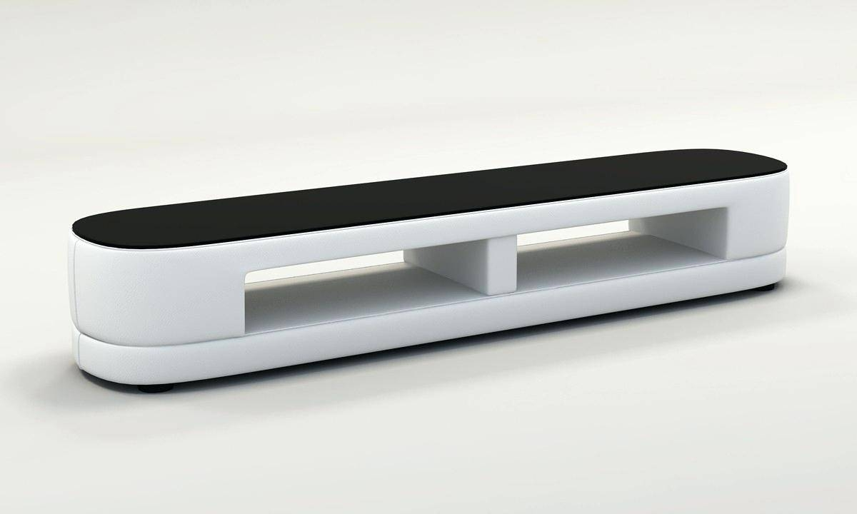 Tv Stand : 99 Excellent Divani Casa Tv25 Modern White Bonded throughout Clear Acrylic Tv Stands (Image 10 of 15)