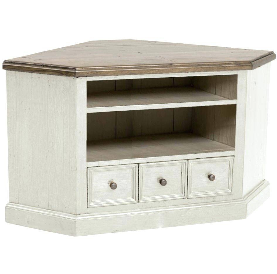 Tv Stand : Amazing Spacious Corner Unit Tv Stands Design Nu intended for Small White Tv Cabinets (Image 12 of 15)