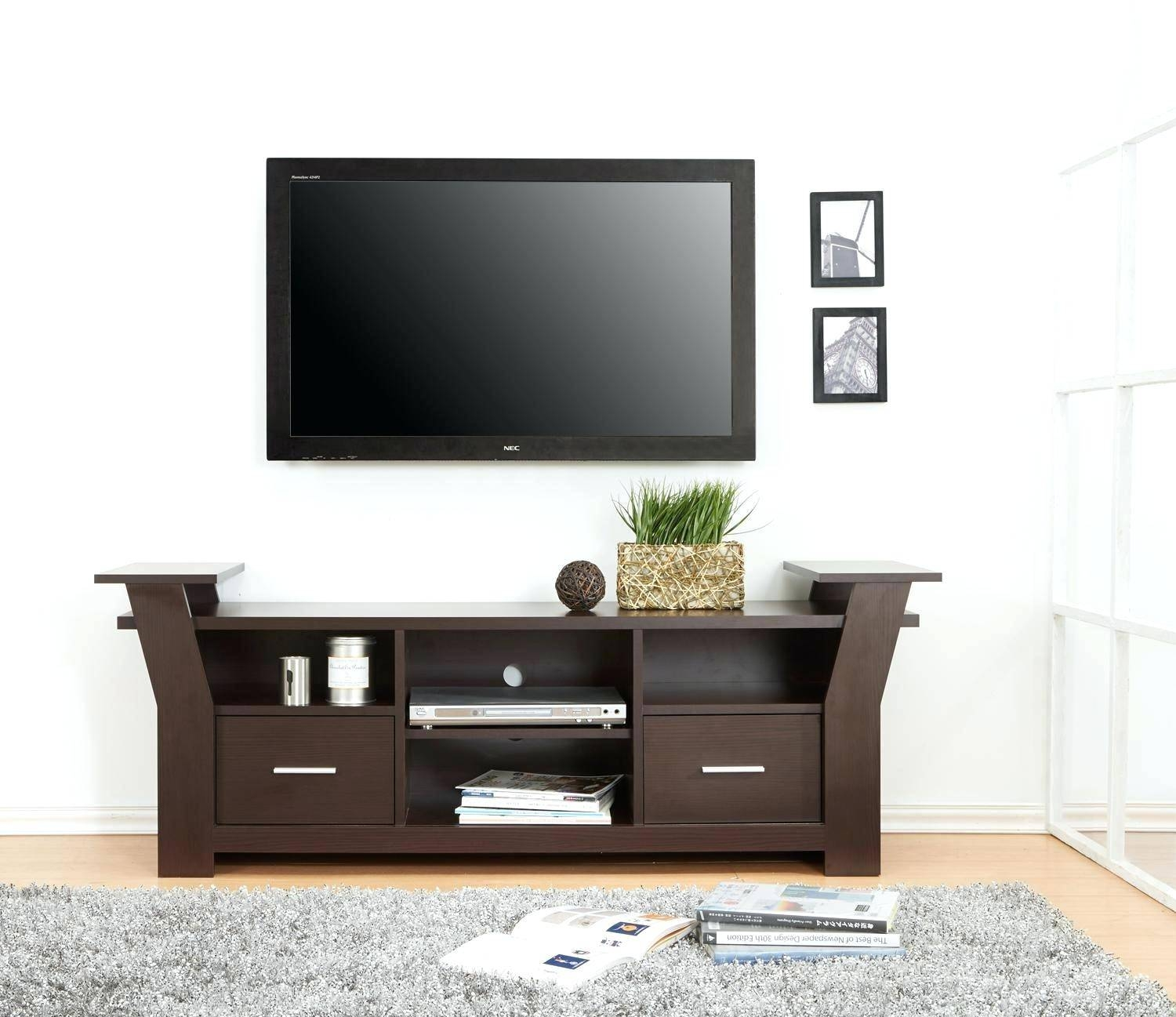 Tv Stand: Amazing Tv Stand With Storage Design. Tv Stand With pertaining to Tv Stands With Storage Baskets (Image 13 of 15)