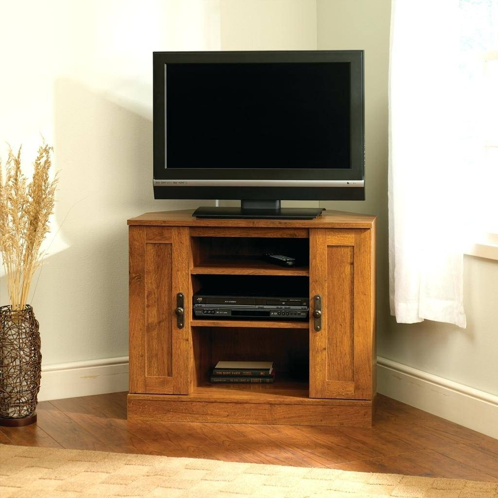 Tv Stand: Awesome Sauder Beginnings Tv Stand Design. Contemporary inside Tv Stands for Tube Tvs (Image 10 of 15)