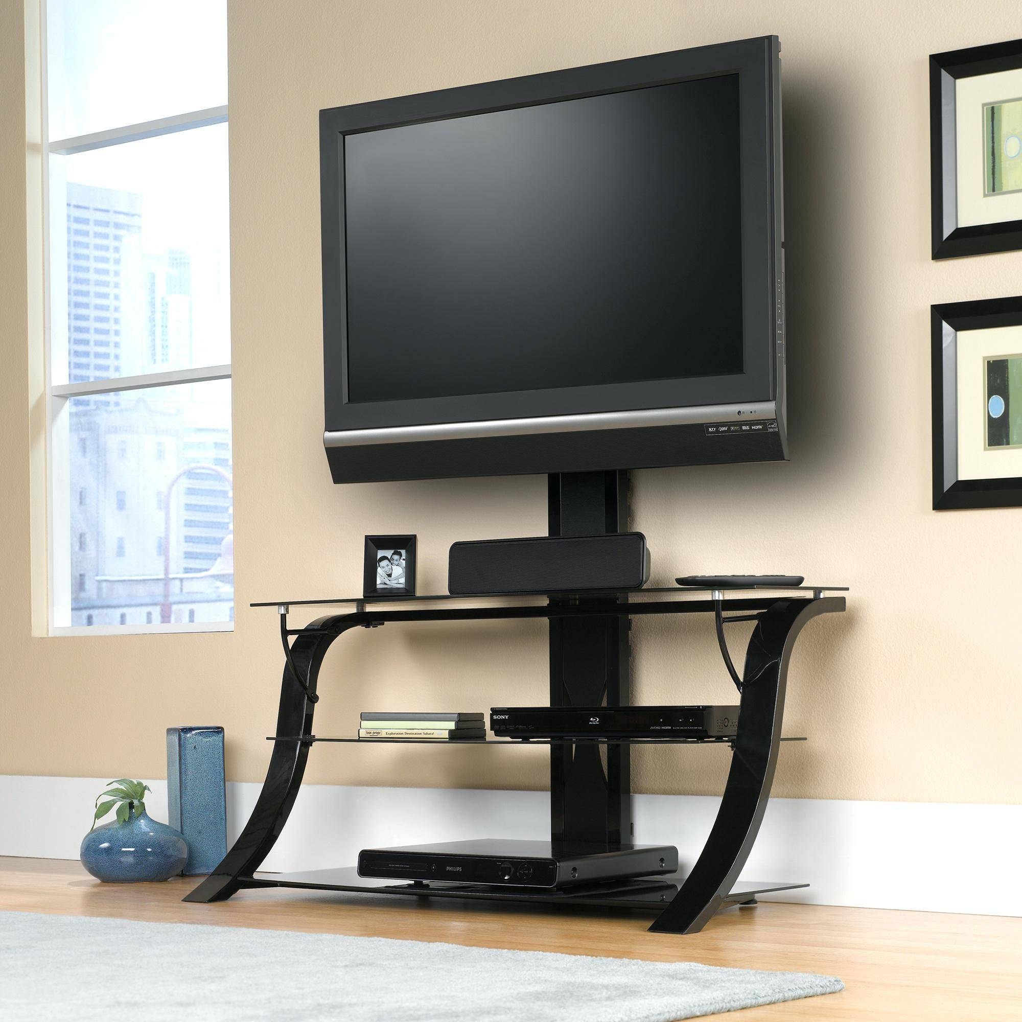 Tv Stand: Beautiful 50 Glass Tv Stand For Home Furniture with Stil Tv Stands (Image 14 of 15)