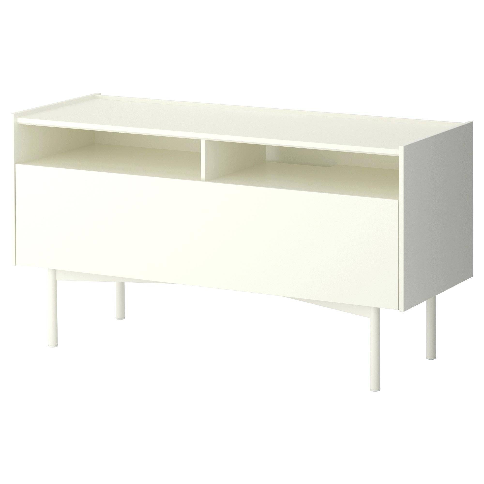 Tv Stand: Beautiful Small White Tv Stand Inspirations (View 14 of 15)