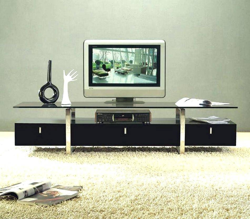 Tv Stand : Beautiful Stylish White Modern Tv Stand From Abreo 48 Regarding Stylish Tv Cabinets (View 2 of 15)