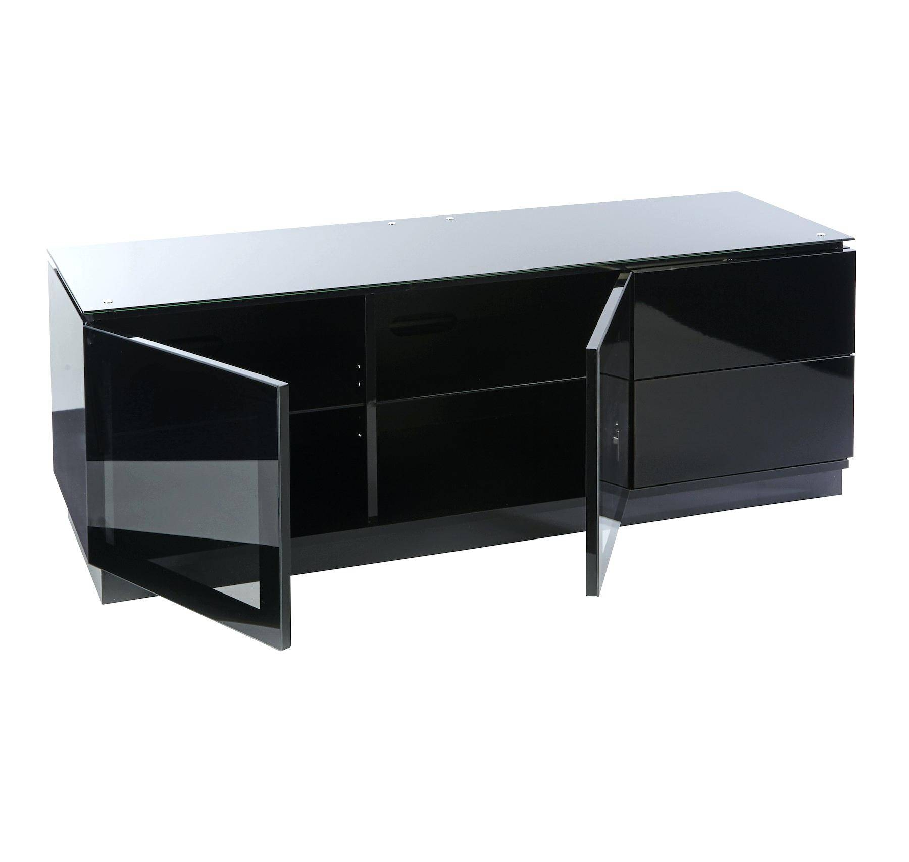 Tv Stand : Black Wood Tv Stand Black Wood Tv Stand Cool Black Wood In Black Gloss Tv Cabinet (View 15 of 15)
