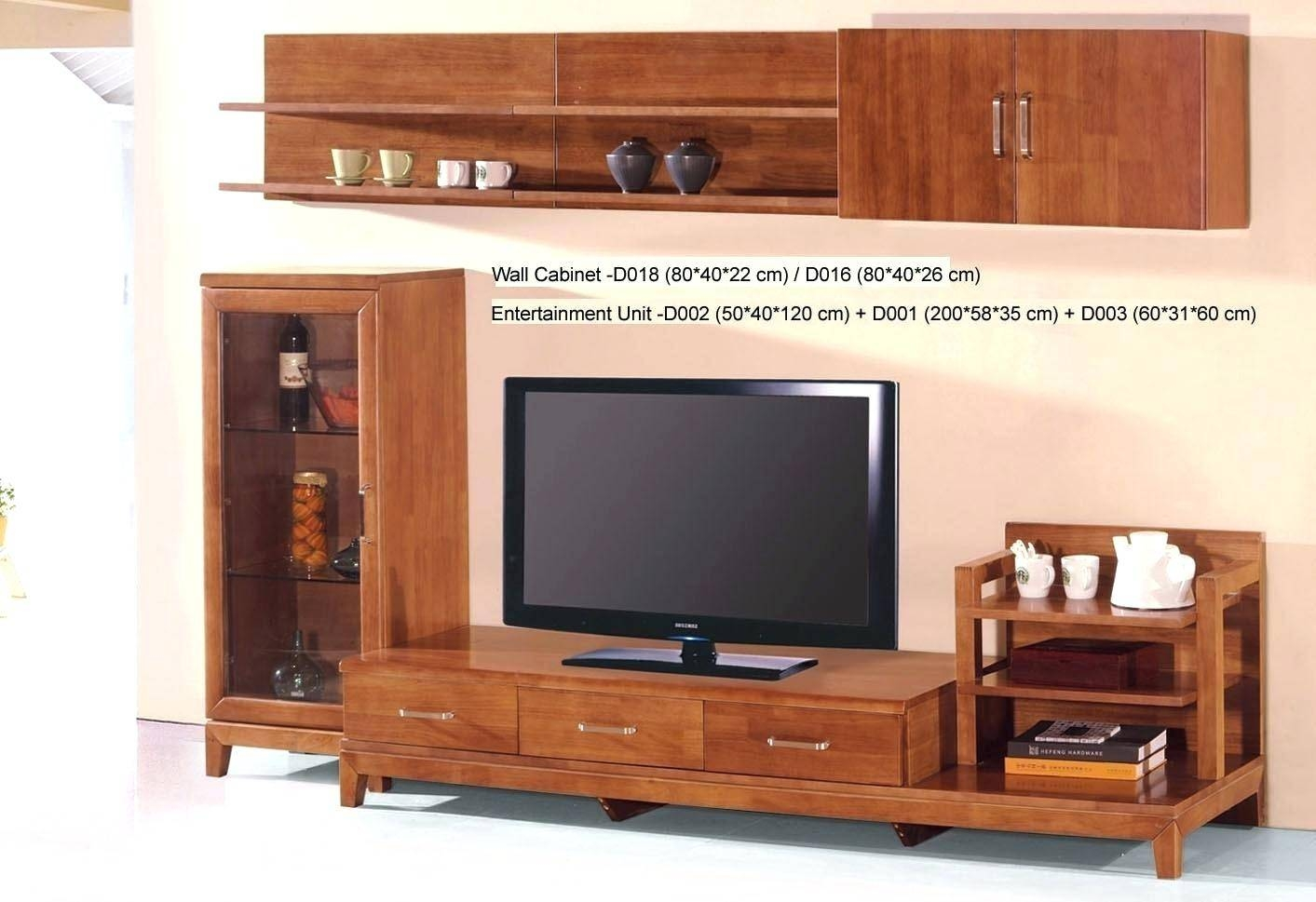 Tv Stand : Bright Country Style Tv Stand Unit Idea In Honey Oak Within Honey Oak Tv Stands (View 4 of 15)