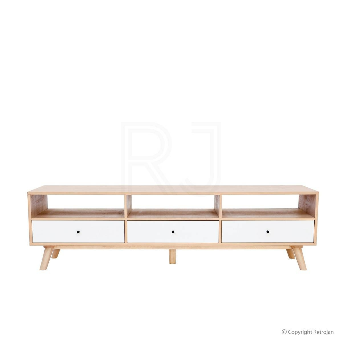 Tv Stand | Buy Hans Tv Unit | Scandinavian Tv & Av Units – Retrojan Within Scandinavian Tv Stands (View 15 of 15)