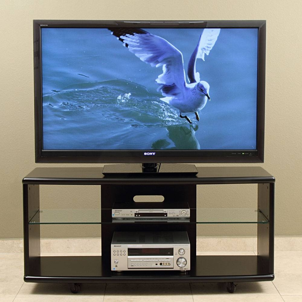 Tv Stand/cart For Up To 55 Inch Plasma, Led/lcd Tvs With Regard To Wooden Tv Stands For 55 Inch Flat Screen (View 9 of 15)
