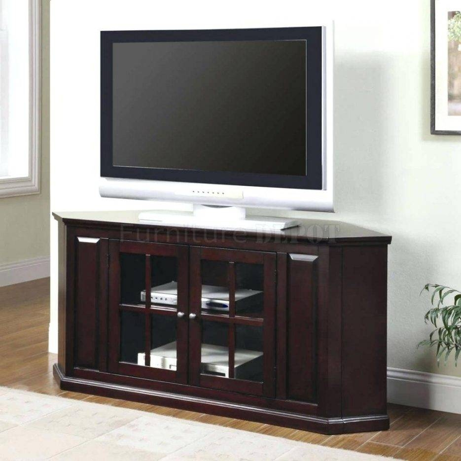 Tv Stand : Cherry Wood Corner Tv Stands Flat Screens Impressive inside Cherry Wood Tv Stands (Image 14 of 15)