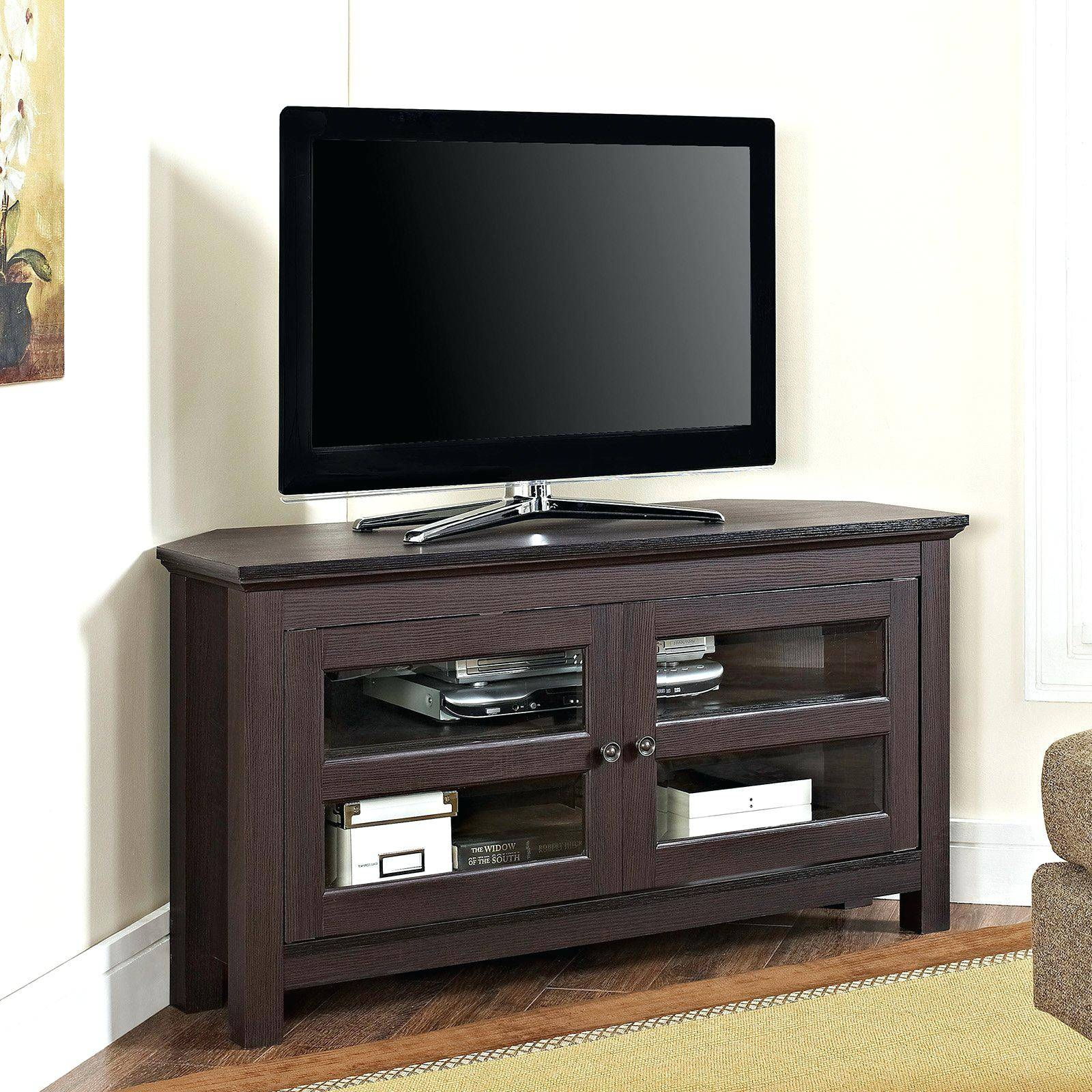 Tv Stand : Cool Rustic Oak Corner Tv Stand With Drawer Corner Oak intended for Corner Tv Stands With Drawers (Image 13 of 15)