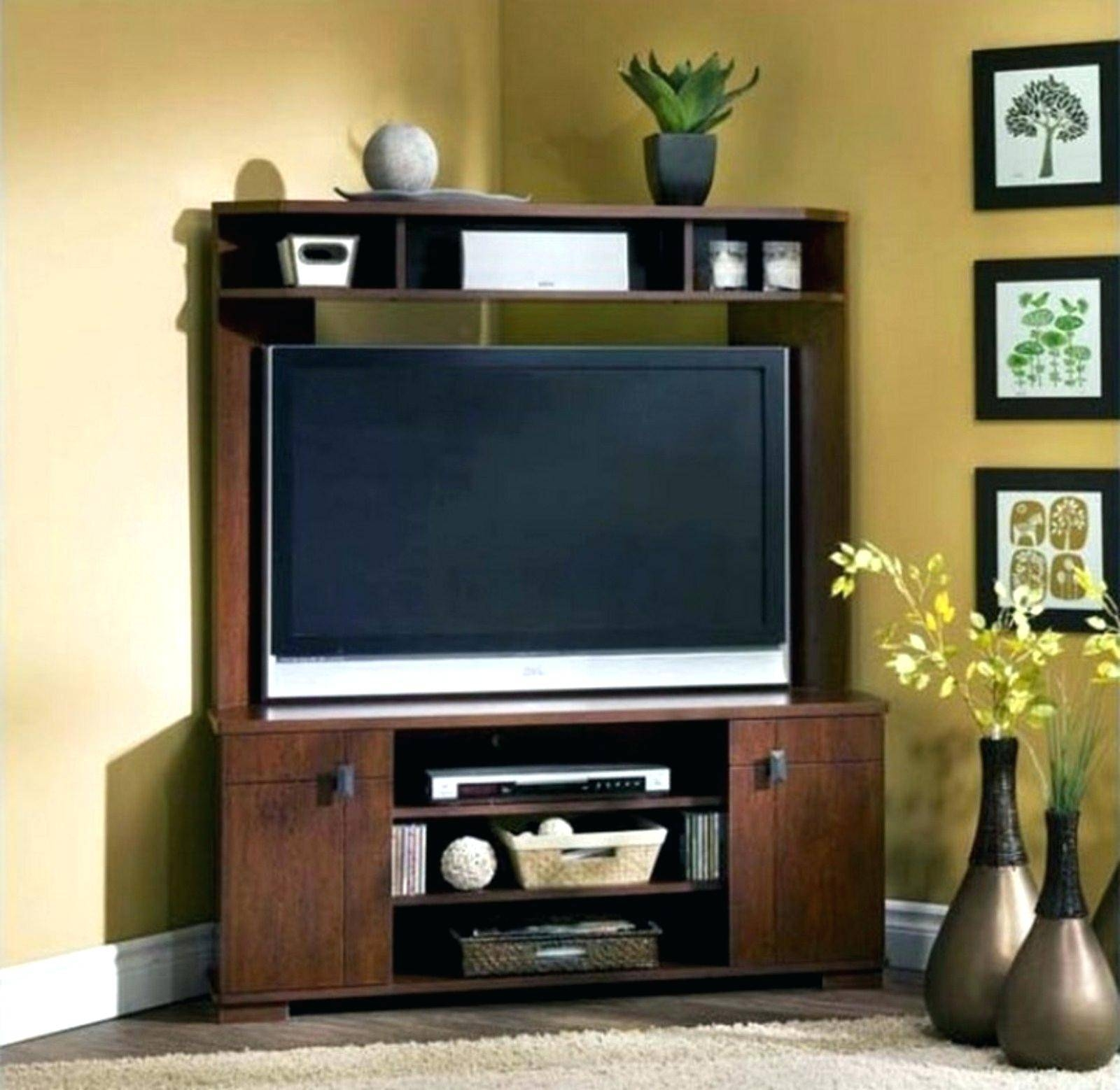Tv Stand : Corner Tv Console 55 Inch Corner Tv Stand Flat Screen Intended For Corner Tv Stands For 55 Inch Tv (View 12 of 15)