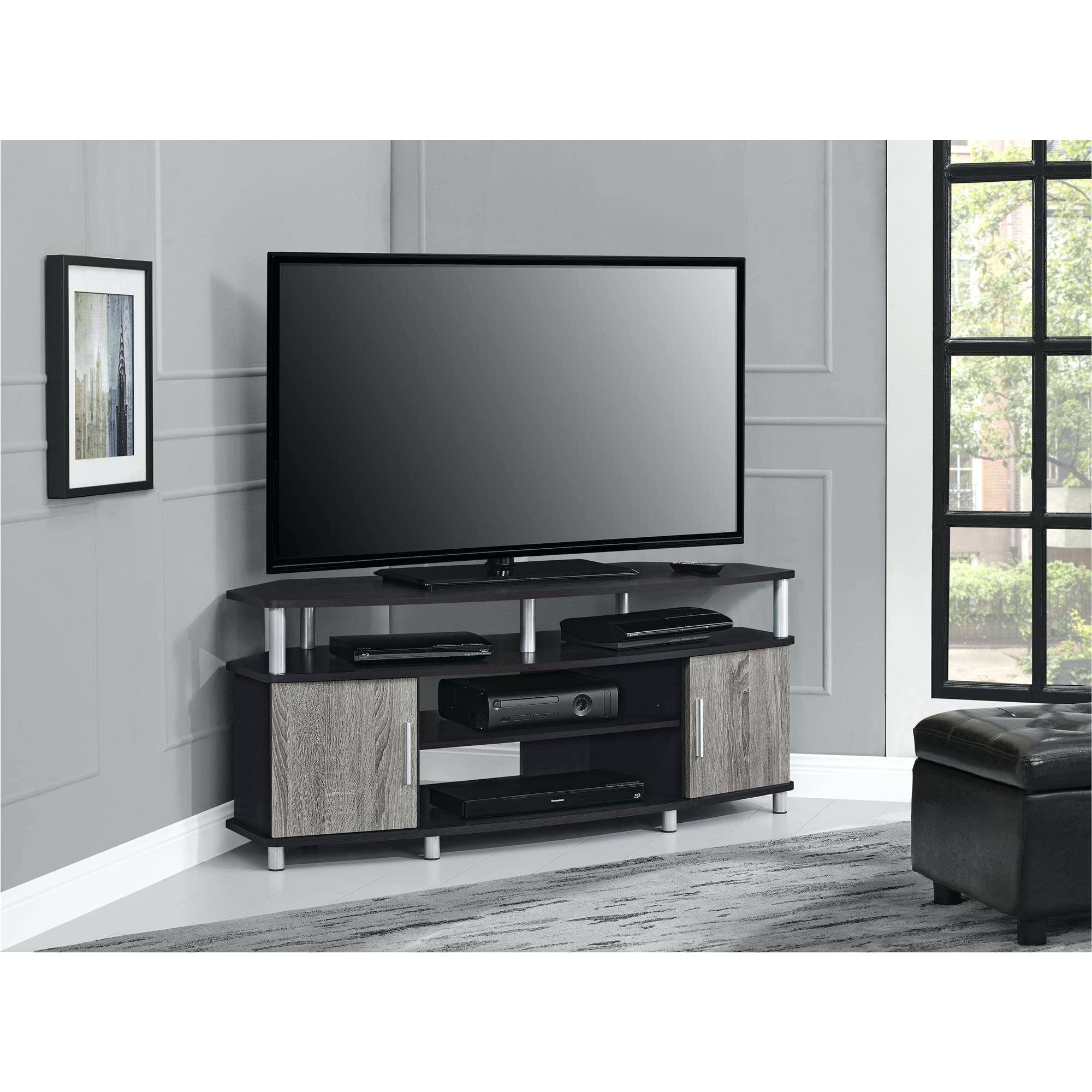 Tv Stand : Corner Tv Console 55 Inch Corner Tv Stand Flat Screen with Triangular Tv Stand (Image 11 of 15)